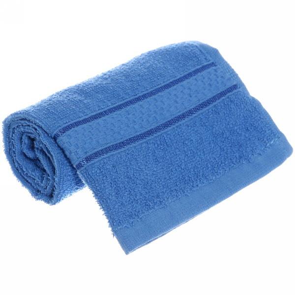 Полотенце махровое 30*60 голубое