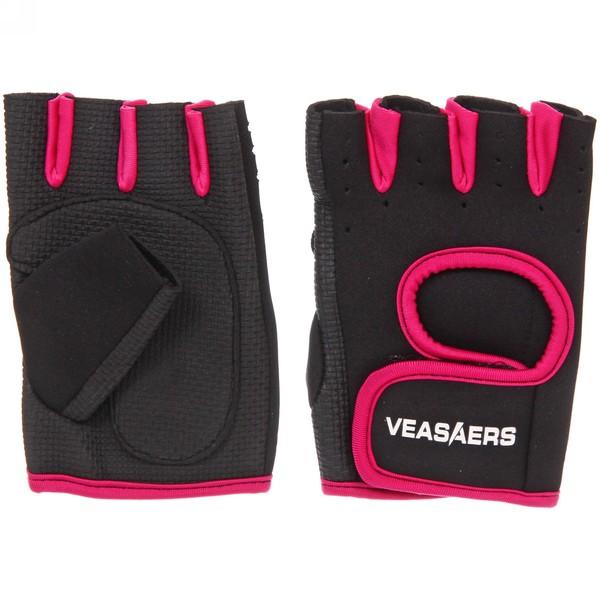 Перчатки для фитнеса, р-р M, микс