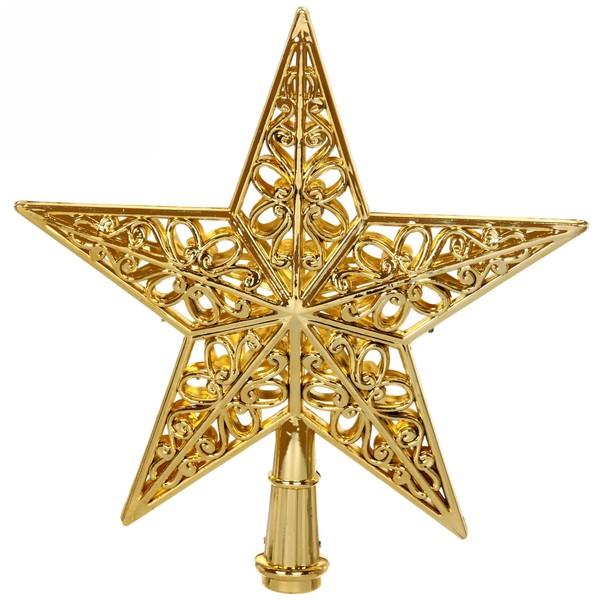 Звезда на ёлку 20 см